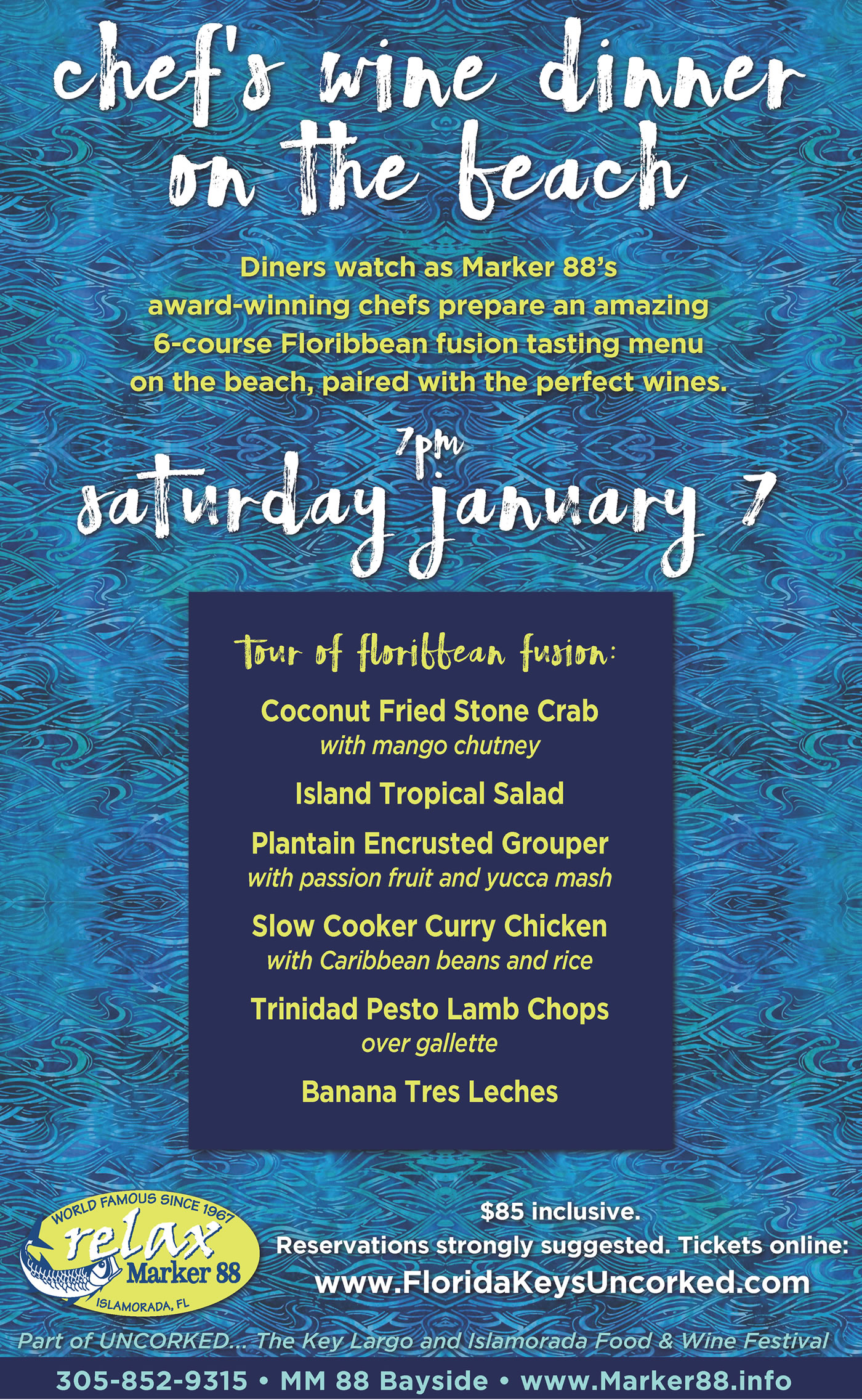 2017 event schedule key largo uncorked food and wine festival