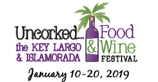 Key Largo Uncorked Food and Wine Festival Logo